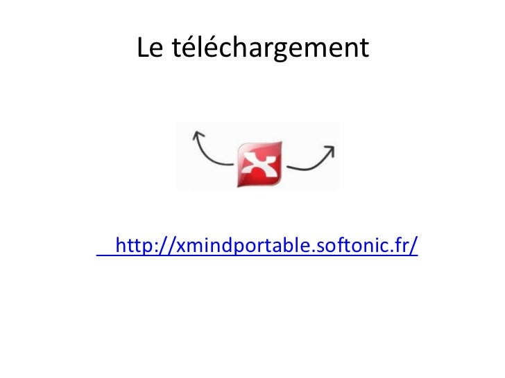 Le téléchargementhttp://xmindportable.softonic.fr/