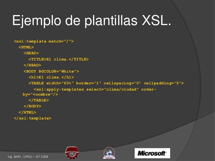 XML en .NET