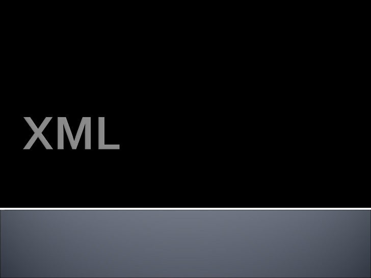 •XML stands for EXtensible Markup Language•XML is a markup language much like HTML•XML was designed to carry data, not to ...