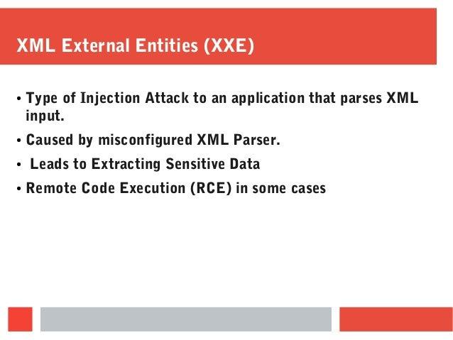 Hands-On XML Attacks