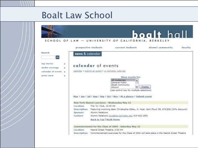 Eastern Washington Case Study Campus Calendar