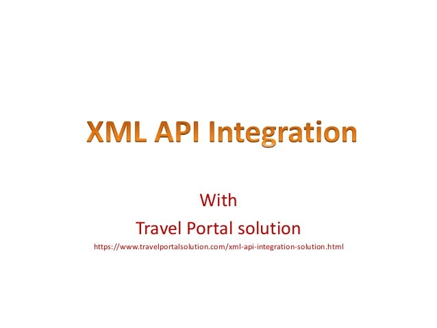 With Travel Portal solution https://www.travelportalsolution.com/xml-api-integration-solution.html