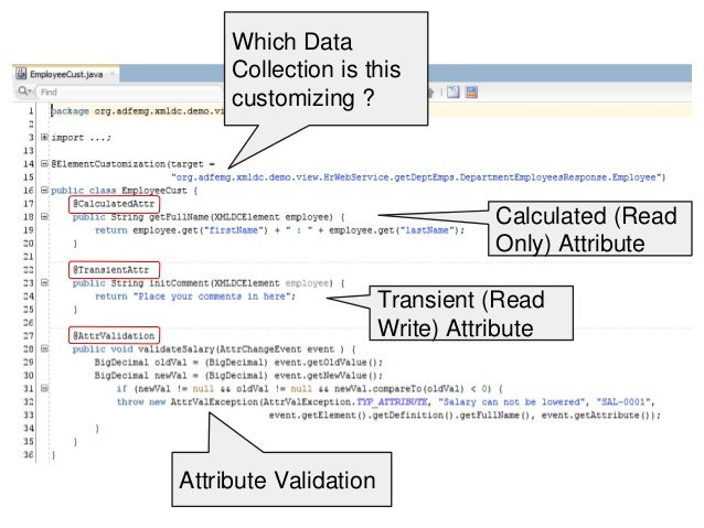 XML Data Control - Oracle OpenWorld Preview AMIS - Richard Olrichs en…