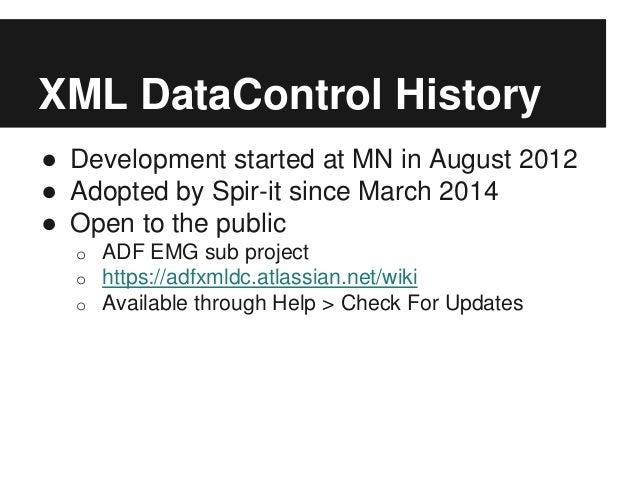 ADF EMG XML Data Control, OOW Presentation