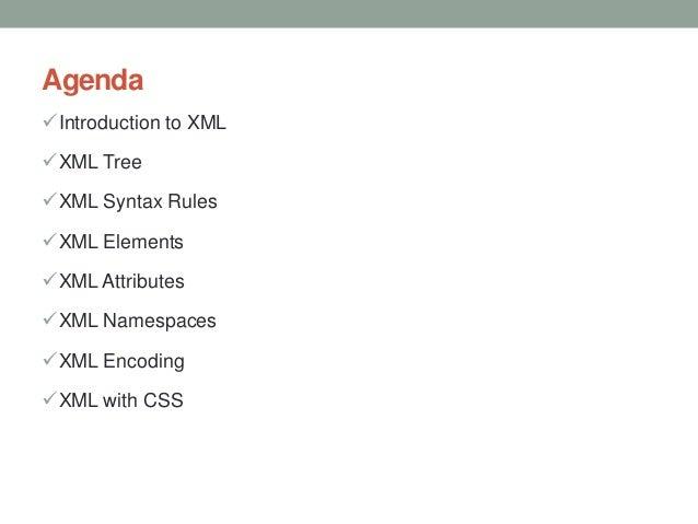 XML, DTD & XSD Overview