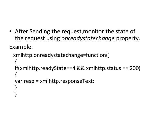 Xml http request