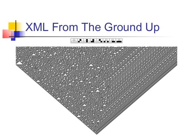 XML From The Ground Up