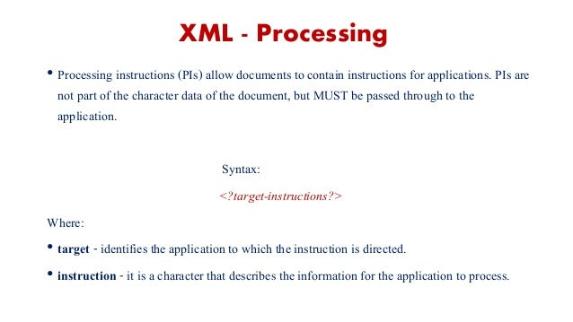 Xml assignment help