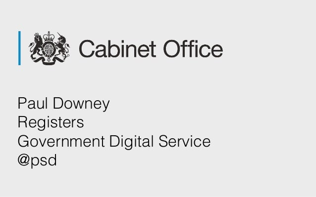 Paul Downey Registers Government Digital Service @psd