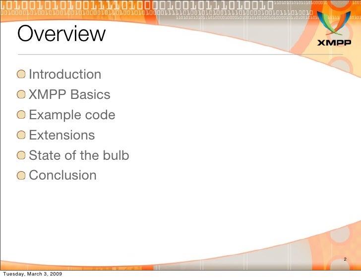 XMPP 101 Slide 2