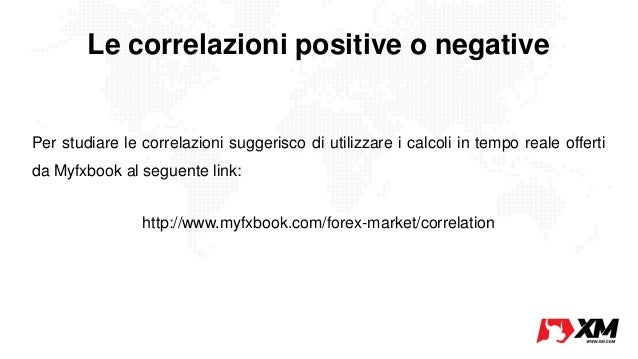Sfruttare correlazioni forex