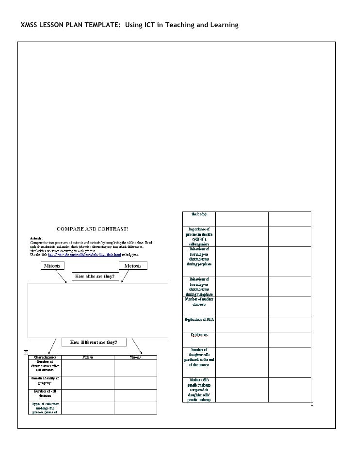 Collaborative Teaching Lesson Plan Template ~ Xmss ict lesson plan jane toh