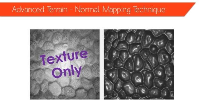 Advanced Terrain – Normal Mapping Technique