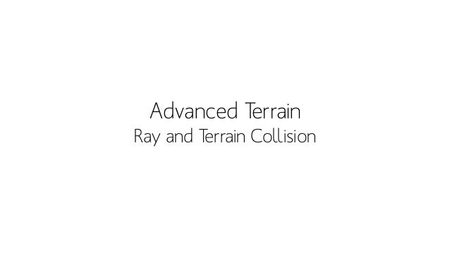 Terrain - packtpub • How to do it perfectly?!