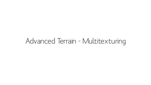 Advanced Terrain –Detailing / packtpub