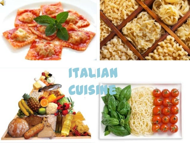Xnb151 cultural food presentation for About italian cuisine