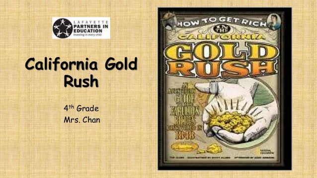 The Gold Rush Worksheet