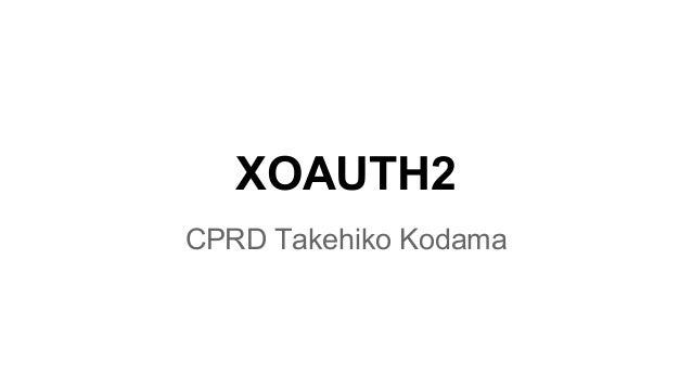 XOAUTH2
