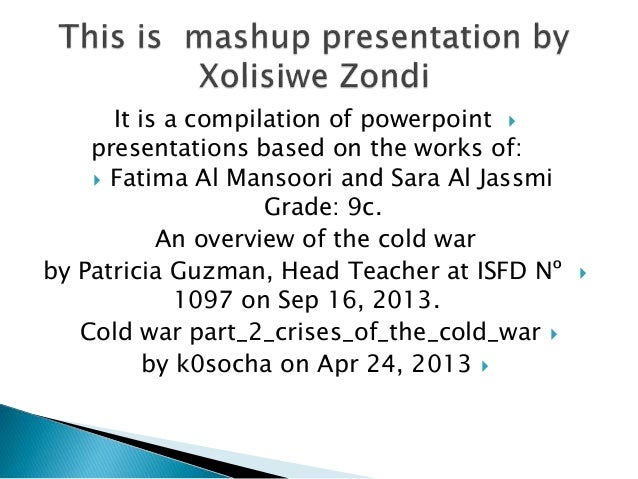 It is a compilation of powerpoint  presentations based on the works of:  Fatima Al Mansoori and Sara Al Jassmi Grade: 9c...