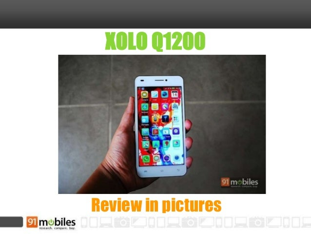 XOLO Q1200 Review in pictures