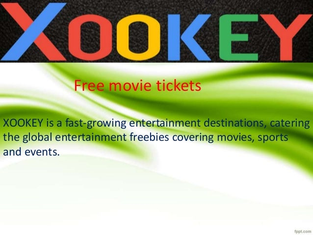 XOOKEY is a fast-growing entertainment destinations, catering the global entertainment freebies covering movies, sports an...