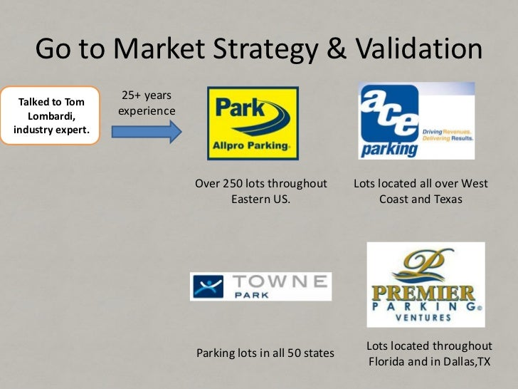 Go to Market Strategy & Validation Tom and Greg'sAffilate Networks                               3,000 Affiliates