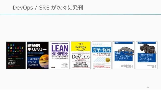 10 DevOps / SRE が次々に発刊