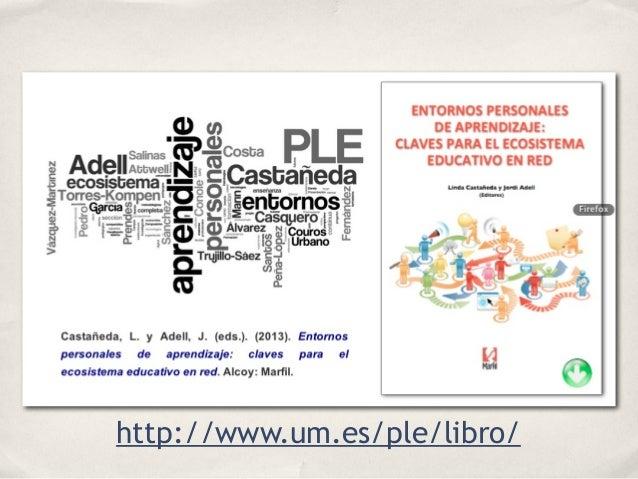 Entornos Personales de Aprendizaje y nuevos ecosistemas de aprendizaje