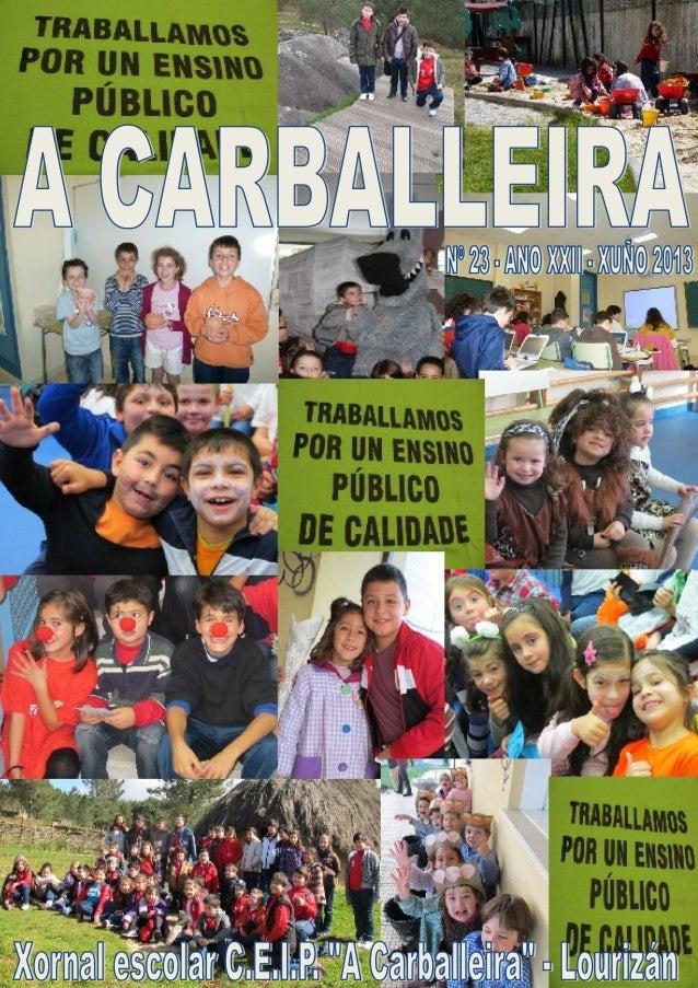 A CarballeiraPáxina 3RobertoVidalBolañoRoberto Vidal Bolaño naceu en Santiago de Compostela en 1950 e faleceu na mesma cid...