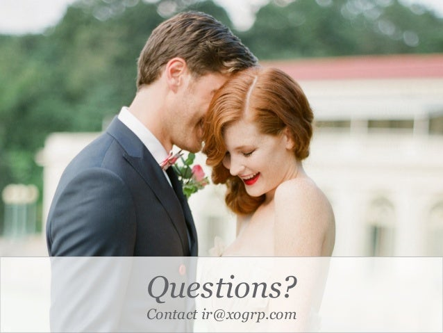 Questions? Contact ir@xogrp.com 25