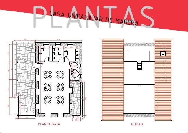 PLANTAS CASA UNIFA MILIAR DE M ADERA 874 18  395  195  14  256  14  FRIGO  280  160  7  1050  335  145  14  289  335  60  ...