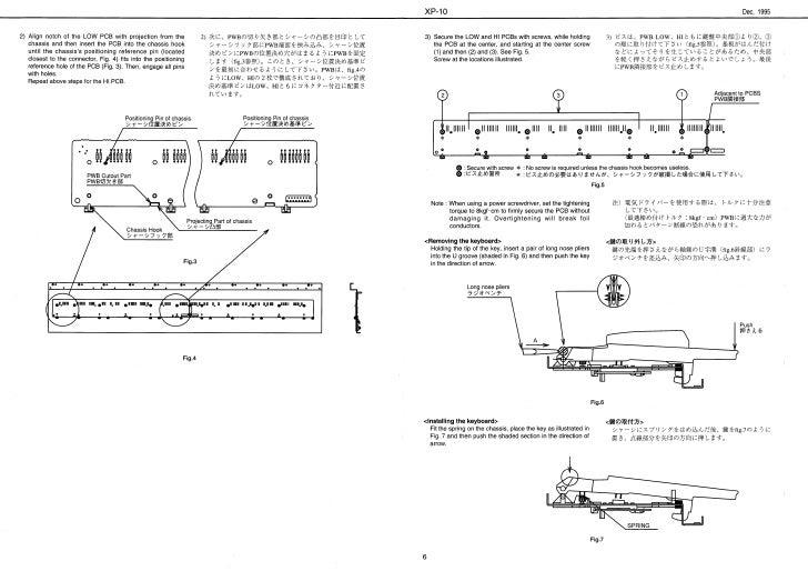 Roland xp-10 service manual keyboard.