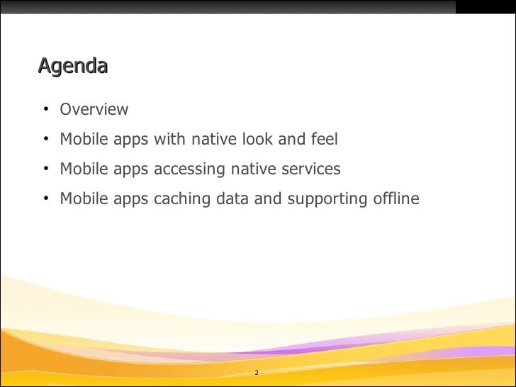 Mobile Controls for IBM Lotus Domino XPages on OpenNTF 09/10 Slide 2
