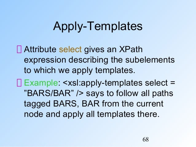 xslt for-each variable example