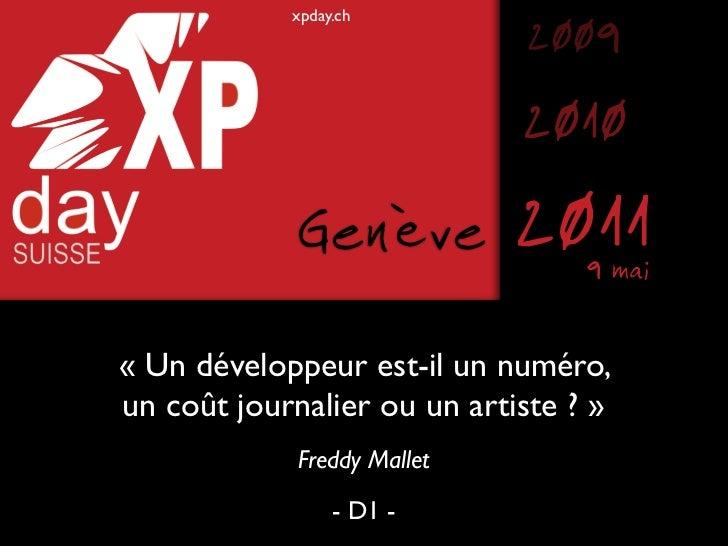 xpday.ch                             2009                             2010             Genève          2011 9 mai« Un déve...