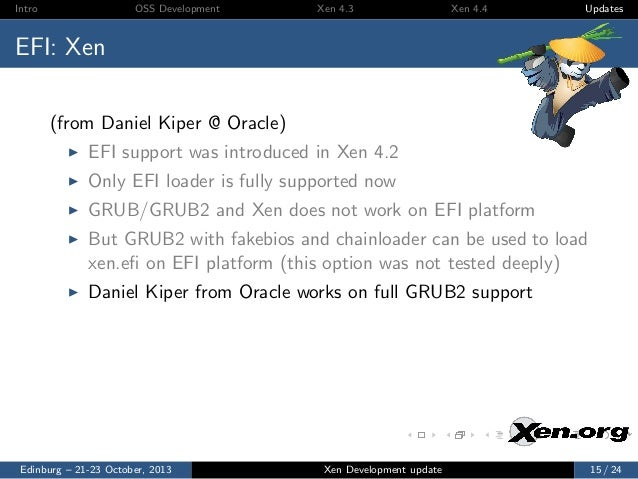 XPDS13: Xen Hypervisor Development Update - George Dunlap, Citrix