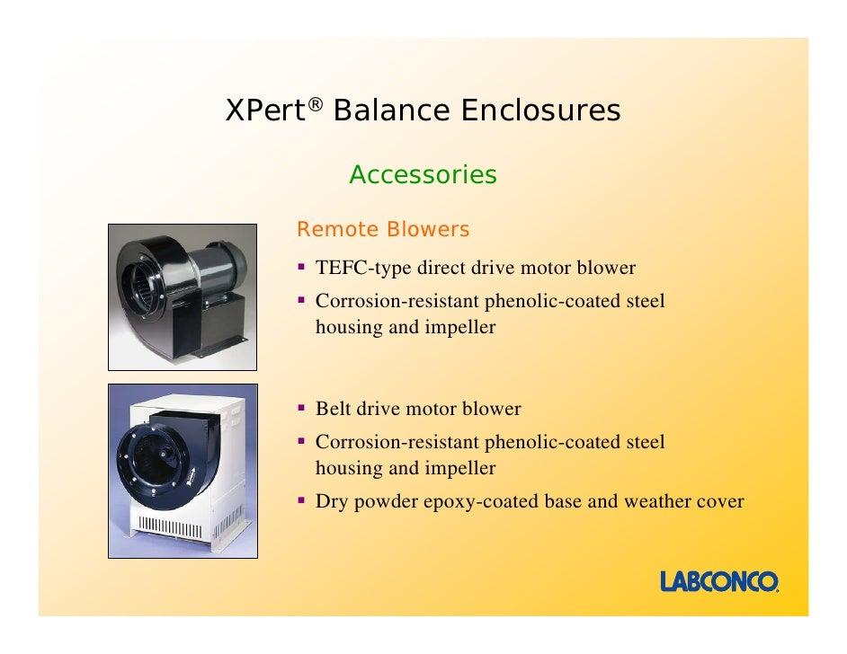Direct Drive Impellers : Xpert balance bulk powder enclosures presentation