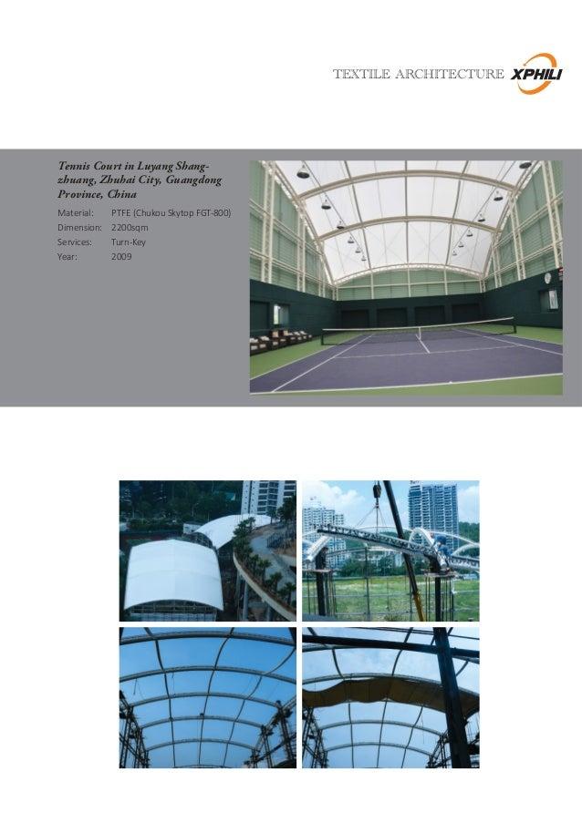 sc 1 st  SlideShare & Xphili Textile Architecture - Company Profile