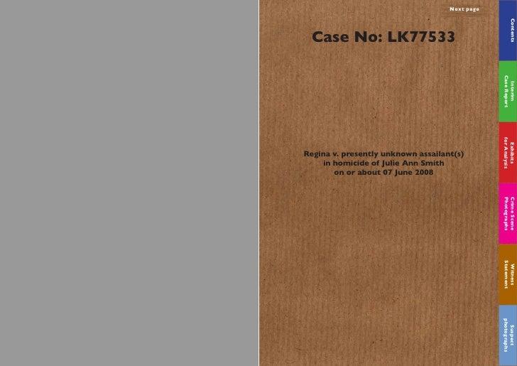 Next page                                                           Contents   Case No: LK77533                           ...