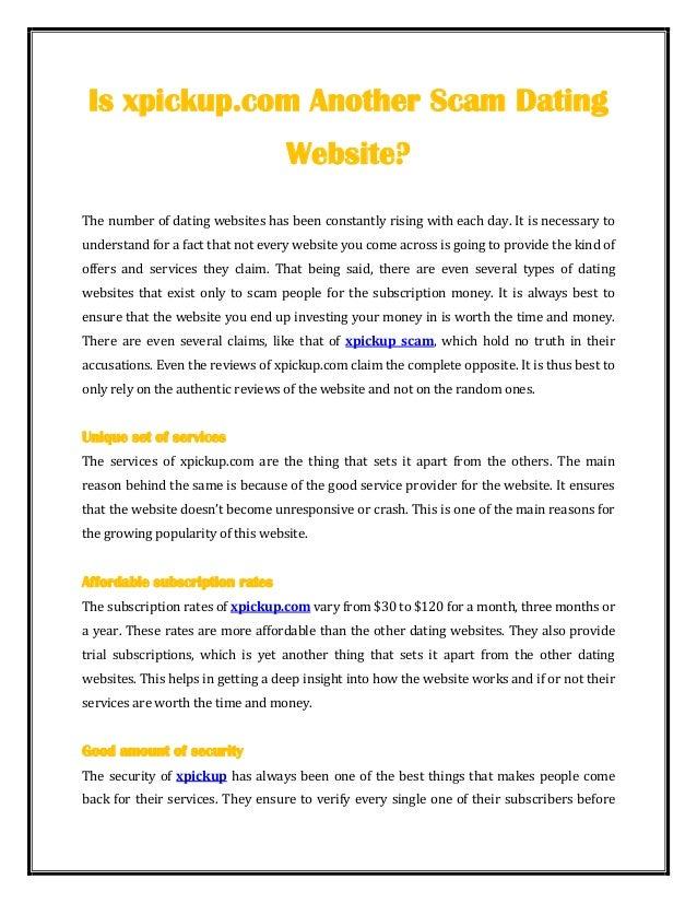 Xpickup site review