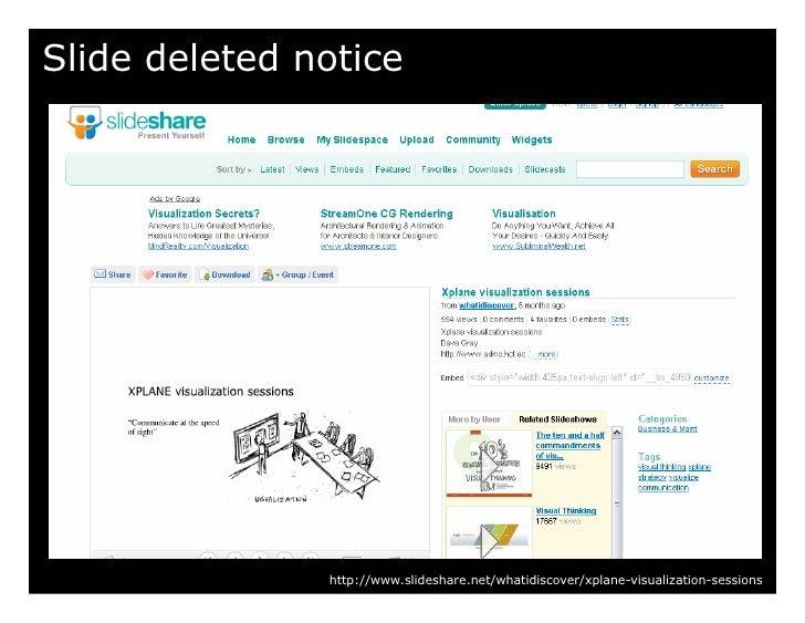 Slide deleted notice                    http://www.slideshare.net/whatidiscover/xplane-visualization-sessions