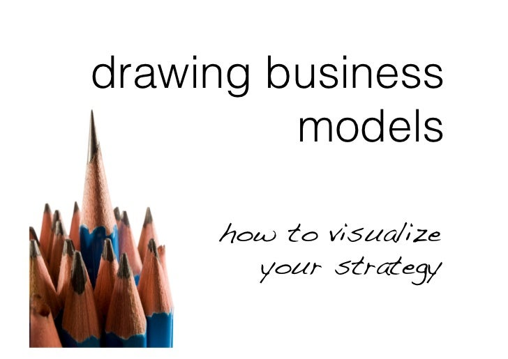 drawing business          models       how to visualize        your strategy!