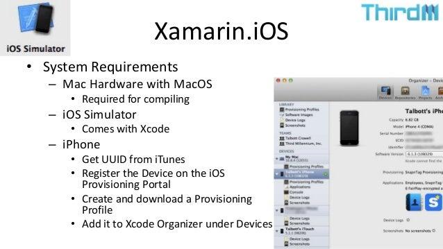 Cross Platform Native Mobile App Development in C# using Xamarin and …