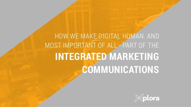 PLATFORM FOR COMMUNICATION 2 After understating who we talk to, we start working on the Platform for communication. This i...