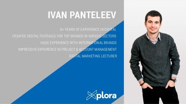 Xplora BG Company Presentation