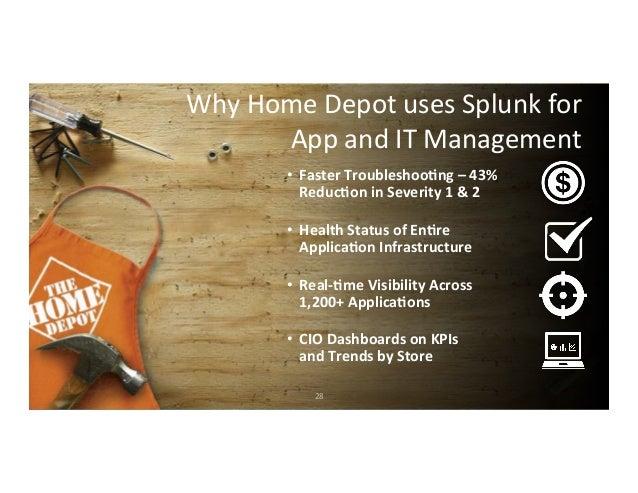 Home Depot Splunk Live