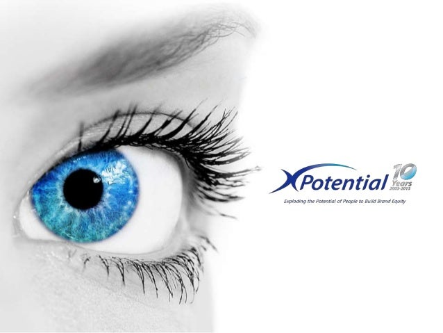 © XPotential 2015 Celebrating 10 Years of aligning individuals and organisations to create and deliver brand equity We bel...