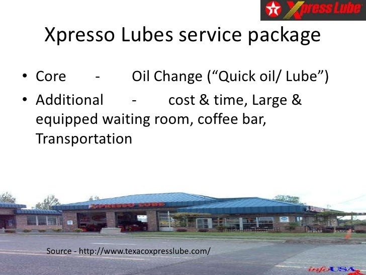the xpresso lube case The resource service management : operations, strategy, information technology,  case 22 xpresso lube  service management : operations, strategy, information.
