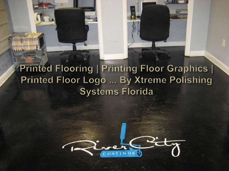Printed Flooring | Printing Floor Graphics | Printed Floor Logo ... By Xtreme Polishing Systems Florida<br />