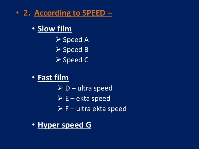 Film speed | definition of film speed by Medical dictionary